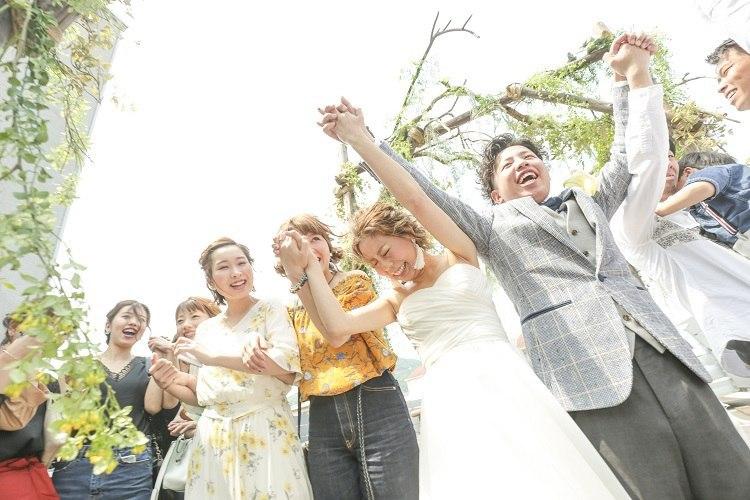 ガーデンウエディングでふたりらしい結婚式になりました