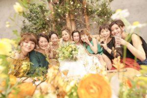 高砂ソファはゲストと一緒に撮影もできて楽しい結婚式