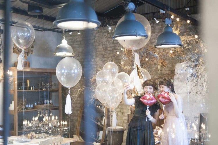 結婚式のバルーン装飾,インスタ映えするフォトブース