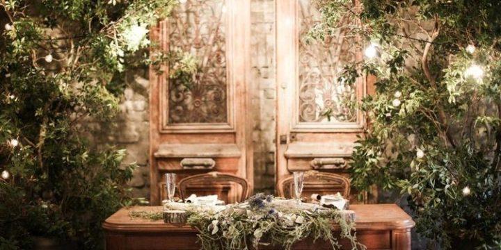 結婚式の装飾アイディア|オシャレすぎるシンボルツリー装飾