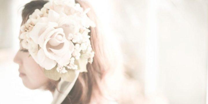 前撮りや結婚式、記念フォトにも!さまざまなシーンで使えるヘッドドレスの作り方
