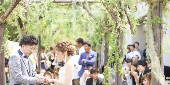 春婚・秋婚のプレ花嫁必見◎*ガーデンウェディング*で心に残る人前式を