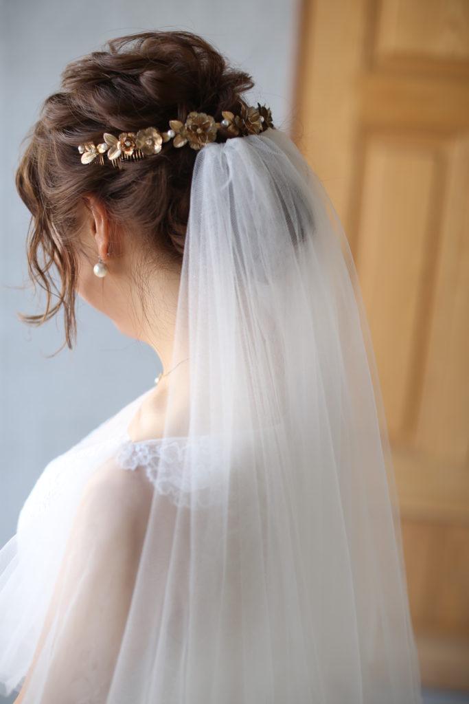 高松市の結婚式場リュバンの花嫁のへアレンジ