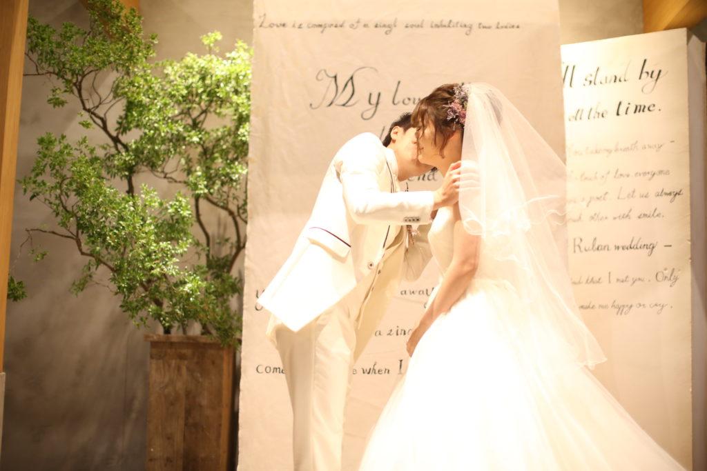 香川県高松市の結婚式場リュバンのドライフラワーでのヘアアレンジ