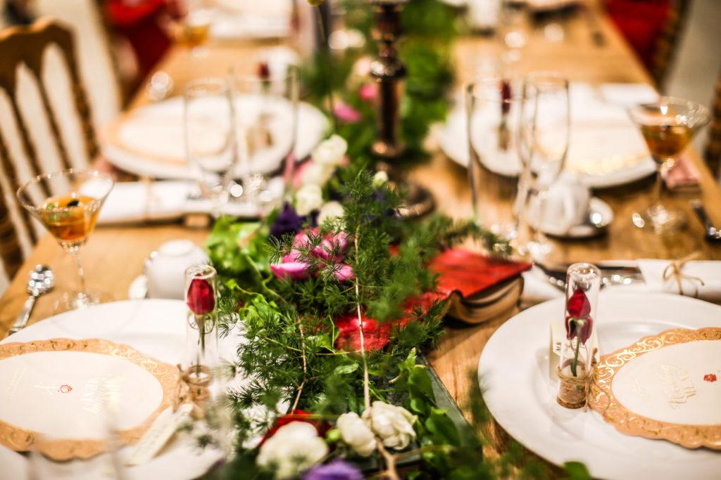 香川県高松市の結婚式場リュバンのテーブルコーディネート