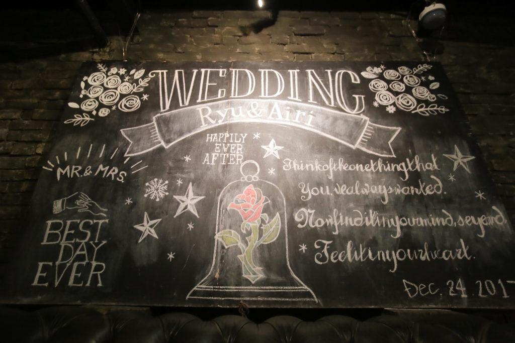 高松市の結婚式場リュバンの装飾