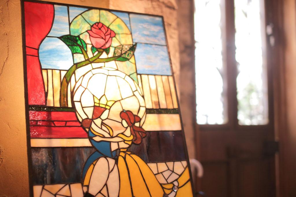 香川県高松市の結婚式場リュバンのステンドグラス