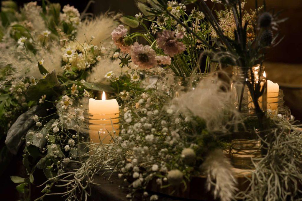 高松の結婚式場リュバンのフェアで会場コーディネートを見学